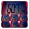 今週の体重、60.7kg。