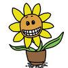 『笑う花』