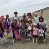 辻堂海岸で運動会応援ライブ