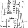 ArduinoとTC4051BP(アナログマルチプレクサIC)で簡単なMIDIシーケンサーをつくる