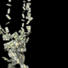 人類の現代経済活動を嘲る金塊アート