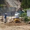 土砂崩れ発生の様子4 ブルーベリーまつり実行委員会 利用者の様子 キキョウ
