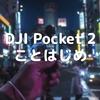 DJI Pocket 2 ことはじめ