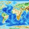 地球全体を、標高1m毎に別の色で塗り絵して地図を作ってみる。