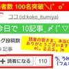 はてなブログ読者数100名突破( ゚д゚)ポカーンな お話。