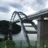 気仙沼大島大橋架橋工事現場を見てきた。