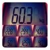 今週の体重、60.3kg。