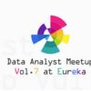 Data Analyst Meetup Tokyo(damt) vol.7に参加しました!