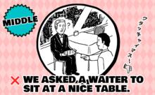 レストランでしくじった!ask ... to ~  と ask ... for ~