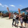 ファミリーで大型クルーザーピピ島ツアー