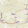 兵庫県宍粟市の三久安山(1123.2m)でスノーシュートレッキング