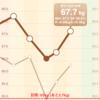 【ダイエット53日目】8/11 食事量・運動量。ここにきて食欲がふつふつと再熱…!