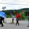 協力隊広報「ほぼ月刊やわた協力隊通信」発行。酒田市・大沢コミュニティーセンターにて芋煮ダンスを踊りまくるなど。