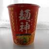 お宝倉庫 姫路店で「明星 麺神 めがみ 旨 味噌」(カップ麺)を買って食べた感想