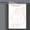 クリップスタジオでお菓子のお家を描いてみよう!(その1、下書き編)