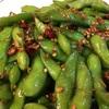 冷凍枝豆を美味しく食す。簡単ピリ辛枝豆レシピ。