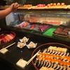 ホテル ムリィヤ内の日本食レストラン EDOGIN(江戸銀)のバッフェでお別れ会。新鮮なネタでレベル高し…