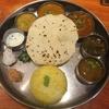 勝田台で南インド料理のミールス 葉菜