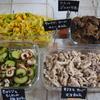 焼きキノコとサバ缶のマヨ和え・きゅうりと竹輪の梅肉和えなど計4品手順