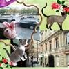バスから見えるパリの街並み♪ハネムーン旅行記2014 フランス&イタリア♪