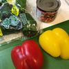 ウインナーソーセージの缶詰とパプリカのカラフル炒めを作ってみた【ウインナーソーセージ/明治屋】