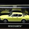 MINICHAMPS Audi 100 Coupé S Coronagelb