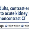 ACPJC:Etiology 成人では造影CTは非造影CTと比較して急性腎障害や死亡と関連しない