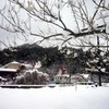 雪景色のおっぺ窯そば教室