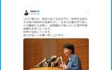 安倍前総理が高市早苗支持をTwitter、Facebookで表明「国家観を力強く示した」