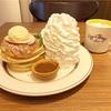 キャラメルソースが絶品♡アップルパイ・パンケーキ(Eggs 'n Things @銀座)