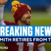 【NFL名選手たち】QBアレックス・スミスが引退。輝かしい16年の現役生活。