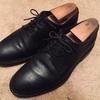 【革靴の経年変化】Jalan Sriwijayaの黒プレーントゥ(2年)