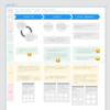 Adobe XD でカスタマージャーニーマップを雑に作る
