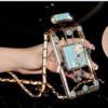 シャネルCHANEL 香水瓶 iphone 6/ 6plus/ 7 香水ボトル ケース チェーン付き