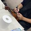 バイオリン&チェロ 備品楽器のメンテナンスを行いました!