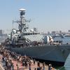 英海軍「モントローズ」&護衛艦「むらさめ」