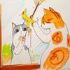 外猫と愛猫の夜