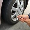 車のタイヤがパンクしてたのに半年も気付かなかった話。