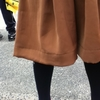 GUのガウチョの裾上げ 10cm裾上げしました。