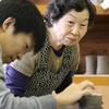 【上砂川】町民の皆さんに教えてもらって、陶芸をしました。
