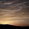 冬が近づくと(金沢の段丘から見える空・山並み)
