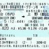 やまびこ140号 乗車券・新幹線特急券・グリーン券【トクだ値10】