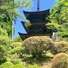 山の村の国宝三重塔! 長野県青木村(129/1741)