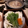 【博多華味鳥 祇園店】おいしいお出汁で頂く水炊きのコースを堪能。鶏肉は柔らかく肝もおいしい。