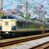 5月30日撮影 東海道線 平塚~大磯間 583系秋田車 Y156記念列車
