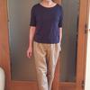 身体の線がバレないレディースTシャツはジャストサイズで透けない生地を選ぶ
