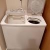 我が家の洗濯機は二槽式