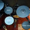 ROLAND 電子ドラムセットを公開