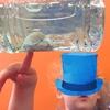 """<テーマ:海> ペットボトルで作れる簡単なオモチャ""""Sensory Bottle""""+今月の""""Sensory Bag"""""""