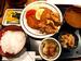 「忠助」の「三河地鶏定食」